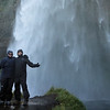 You can walk behind Seljalandsfoss falls, and yes you'll get very wet.