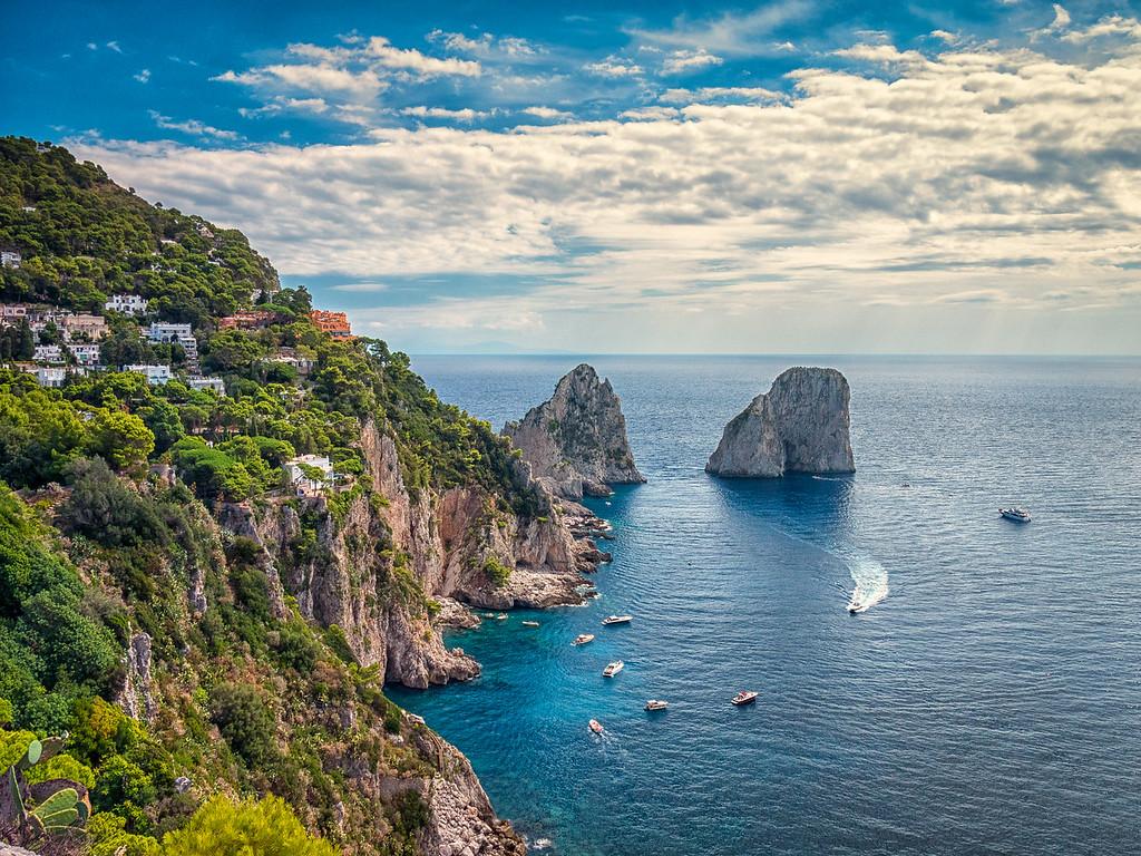 Faraglioni Rocks, Isle of Capri