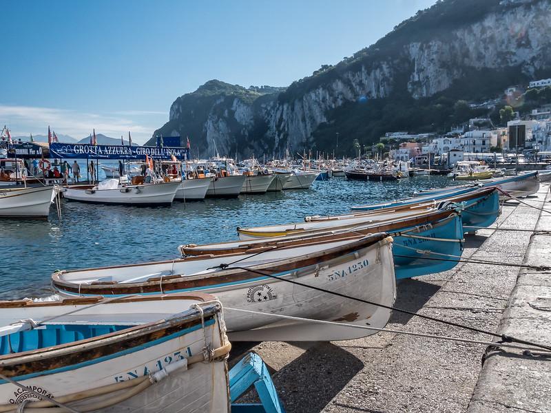 Isle of Capri harbour