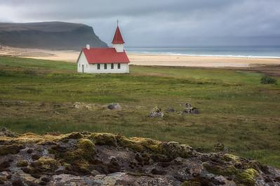 Breiðavík Church-Breiðavík-Westfjords-Iceland