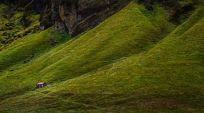 Foss a Sidu-Iceland