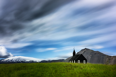 Budir Church-Snæfellsbær-West Iceland-Iceland