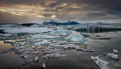 Jökulsárlón Glacier Lagoon-Iceland