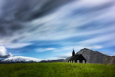 Budir Church-Snæfellsbær-West Iceland-Iceland