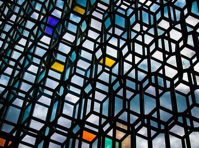 Harpa Concert Hall detail, Reykjavik