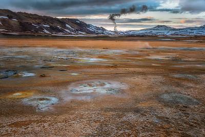 Hverir Geothermal Area-Mývatn-Iceland