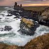 Lóndrangar Pinnacles-Snæfellsnes Peninsula-Iceland