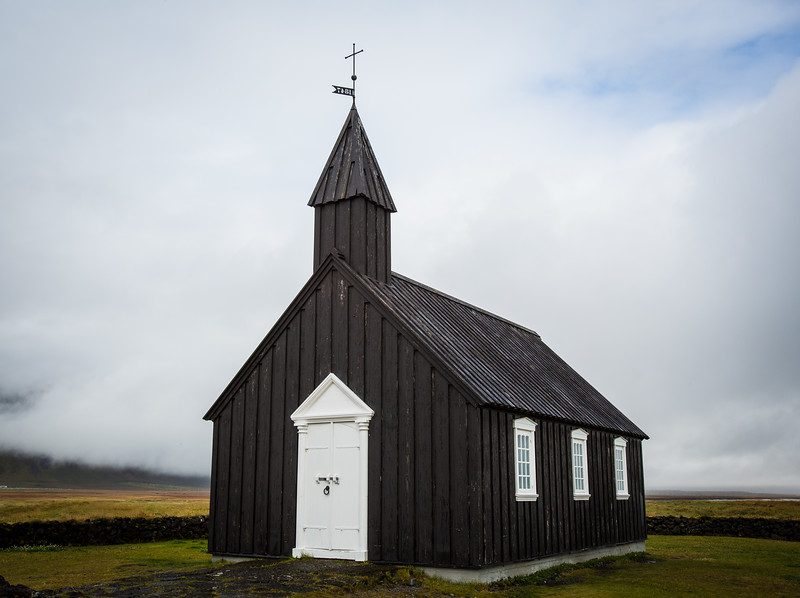 Búðakirkja - Black Church in Búðir