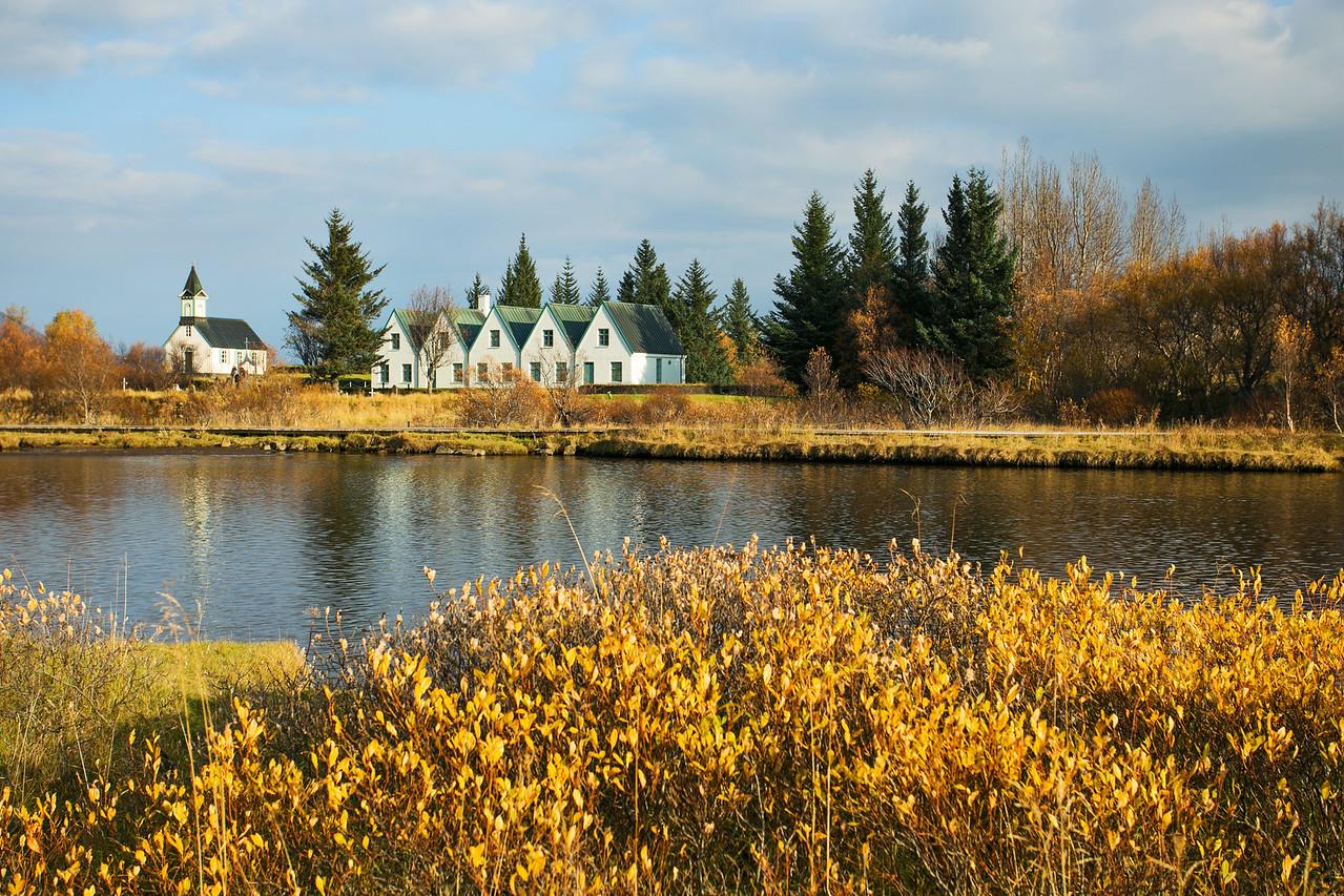 Autumn in Þingvellir