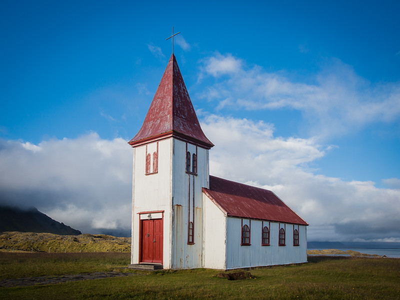 White Church of Hellnar