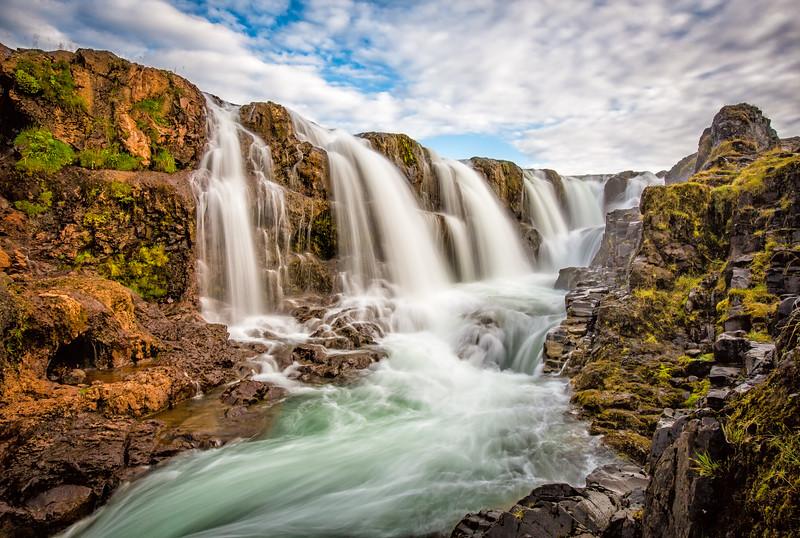 Kolugljúfur Waterfall