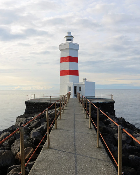 Grótta lighthouse in Seltjarnarnes