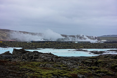 Blue Lagoon and steam