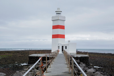 Lighthouse, Gardskaga, Iceland 10 July 2018