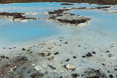 Lava In The Blue Lagoon