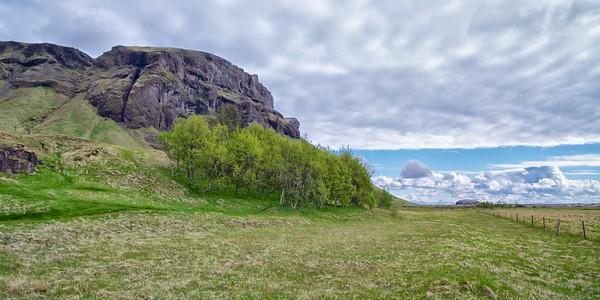 Looking Toward Eiríkslundur