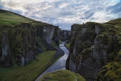 Deep Into Fjarđrágljúfur