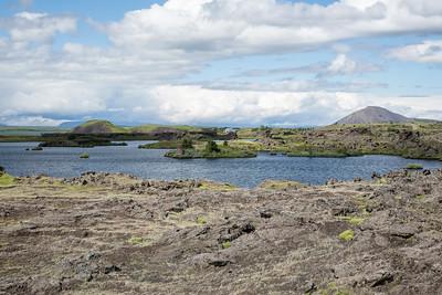Scenery, Lake Myvatn, Iceland 7 July 2018