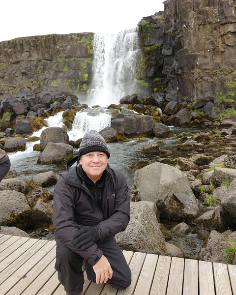 Öxarárfoss Waterfalls