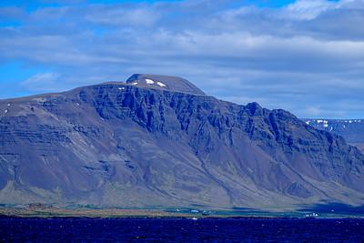 Basalt Pile Near Reykjavík