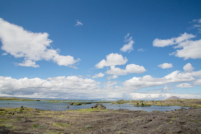 Scenery, Lake Myvatn, Iceland 7 July 2018