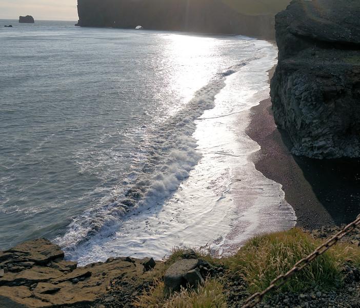 Along the coastline Near Vik