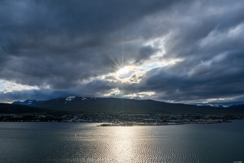 Glimpse of sun