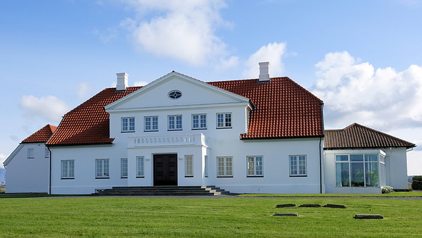 The estate and  parsonage Governor's  & Presidential Residence Bessastadir.