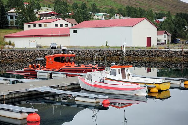 Inlet @ Fáskrúðsfjörður, Iceland