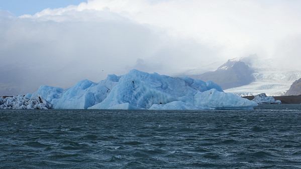 Boat ride on Jokulsarlon Glacier Lagoon