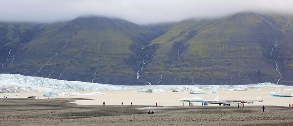 """Jökulsárlón means literally """"glacial river lagoon"""""""