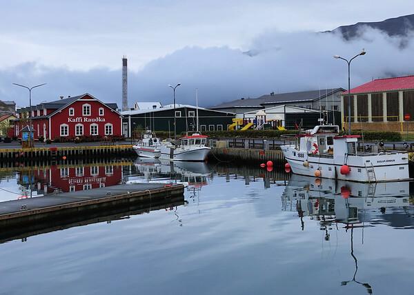Siglufjörður Downtown area