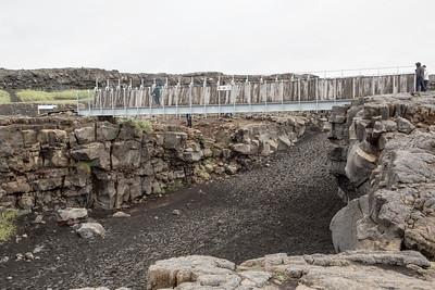Volcanic landscape, near Reykjavik, Iceland 10 July 2018