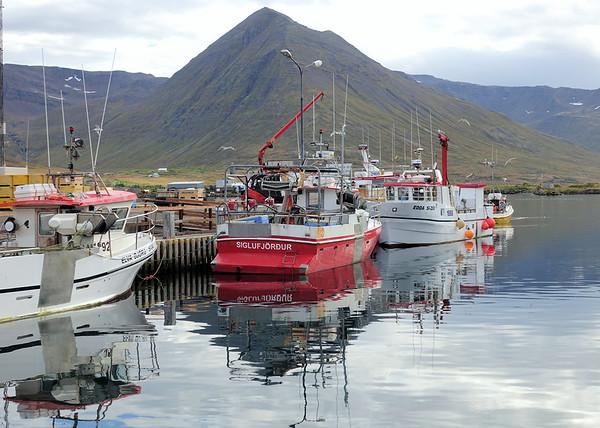 Siglufjörður - Watching them bring in their load