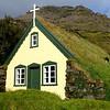 Hofskirkja Church built in 1884