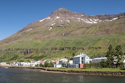Scenery, Seydisfjordur, Iceland 6 July 2018