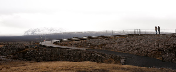 viewing platform at pingvellir