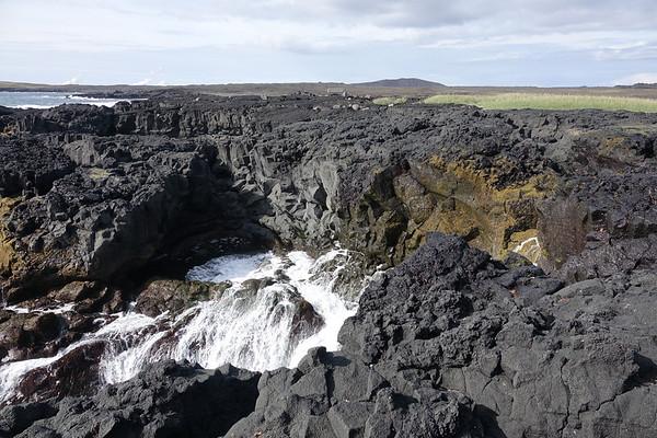 Reykjanes Peninsula Brimketill Lava Pool