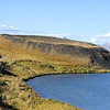 Hverfjall - Nice little hike - Mt. Hverfjall (Hverfell) is an old tephra crater that is estimated to be 2500 years old. The crater is about 1 km in diameter and 400 feet deep