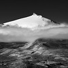 Icy peak