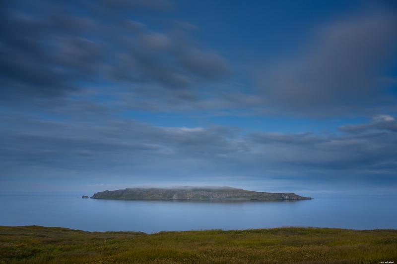 Isle at night