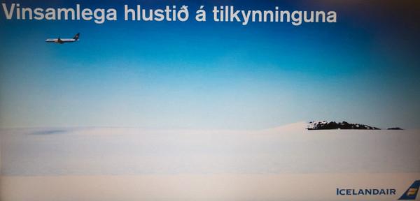 in flight info