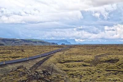 Ring Road Through Eldhraun