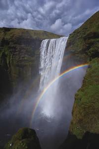 Skógafoss Rainbows