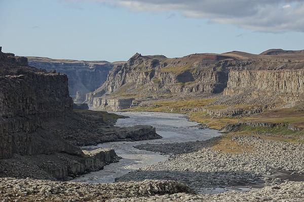 Canyon of Jokulsa  a Fjollum