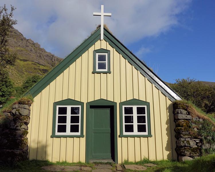 Hofskirkja Church - Last Turf Church of Hof
