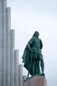 Leifur Eiriksson - discovered America some 500 years before Columbus