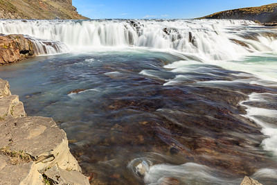 Upper Gullfoss Waterfall