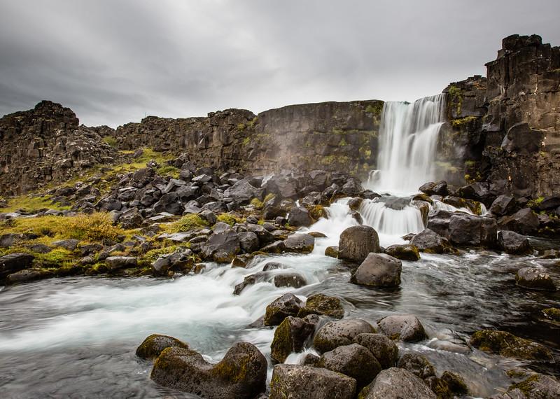 Gulfoss, Öxarárfoss, Iceland