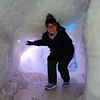 Ice cave and yes it is cold.